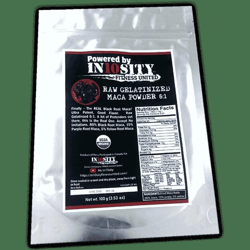 Raw Gelatinized MACA Powder 6:1