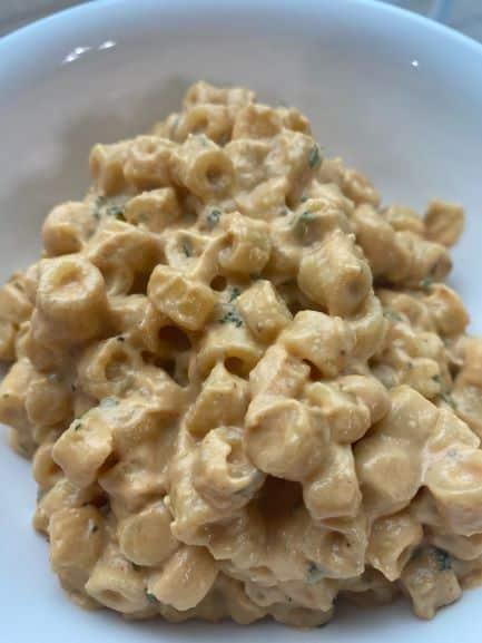 Cashew Sauce Mac and Cheese