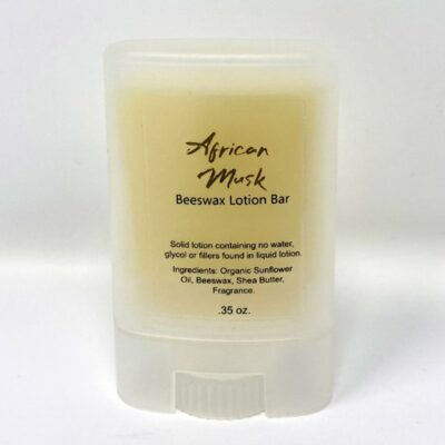 African Musk Lotion Bar